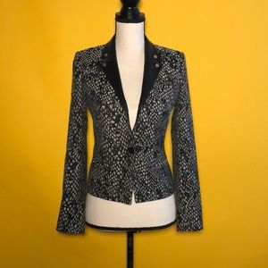 The Kooples blazer with lambskin